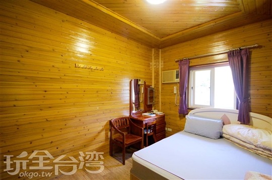 <font color=white>1</font>♨ 幸福雙人溫泉木屋;Spring Chalet Double Room