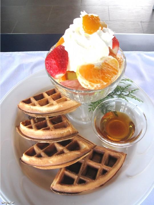 鬆餅-綜合水果