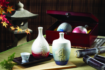 甘願為您帶來桃喜-陶瓶珍藏禮盒