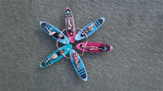 SUP立式單槳探險行程