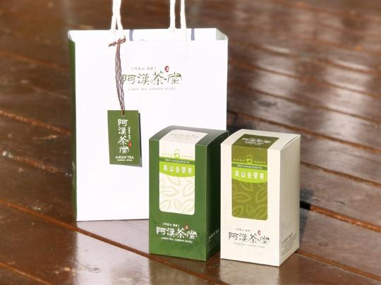 高山金萱茶禮盒