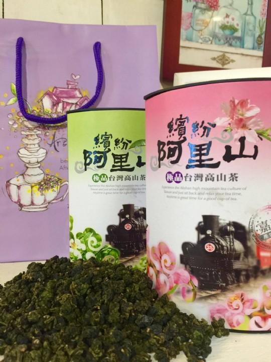 茶葉伴手禮-阿里山金萱茶(1罐150g)