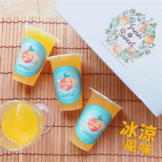 流星花園-柑橘吸凍 6入禮盒 獲選農村好物 山守現品牌認證