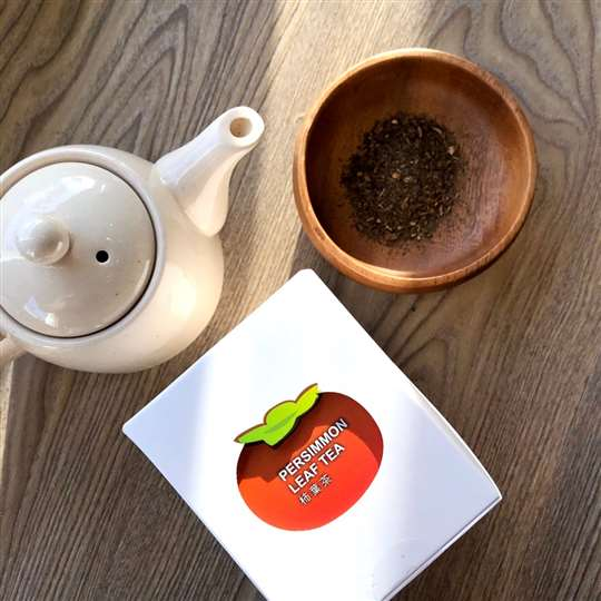 流星花園-柿葉茶10入(熱泡)