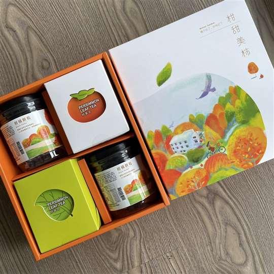 柑甜美柿(中禮盒)