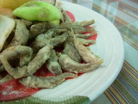 酥炸溪歌魚
