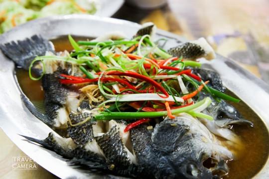 清蒸高山鱸魚