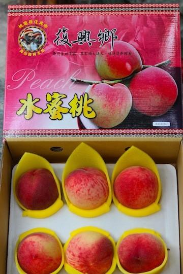 拉拉山 水蜜桃露﹣六顆