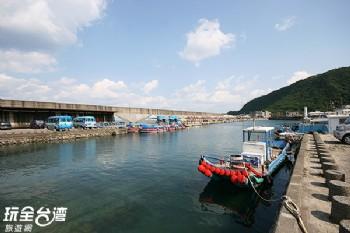 綠島南寮漁港