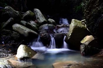 欖仁溪瀑布