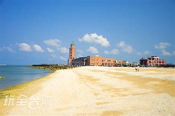 赤崁珊瑚貝殼沙灘