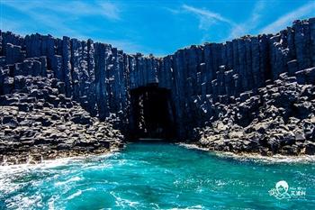 澎湖藍洞秘境