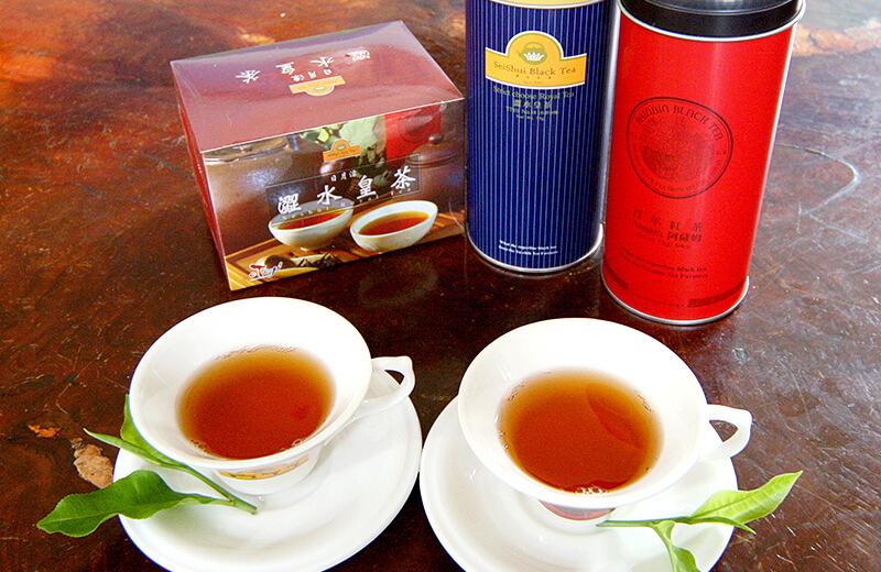 日月潭紅茶.澀水皇茶