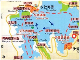 小眾旅遊路線圖