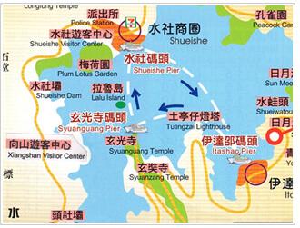 大眾旅遊路線圖