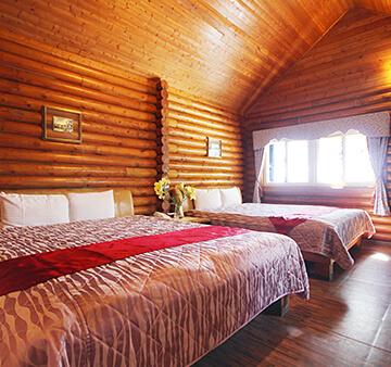 A區-美式原木屋四人房