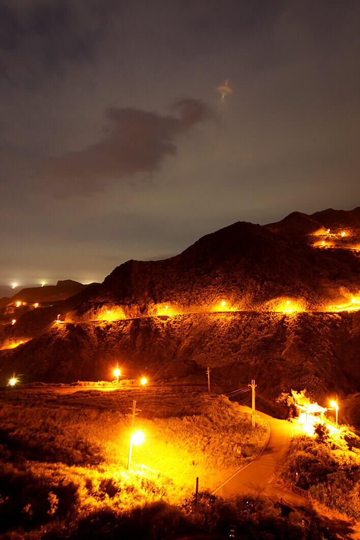 金瓜石夜景