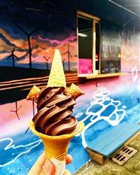特濃黑巧克力霜淇淋