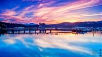 日月潭環湖美景