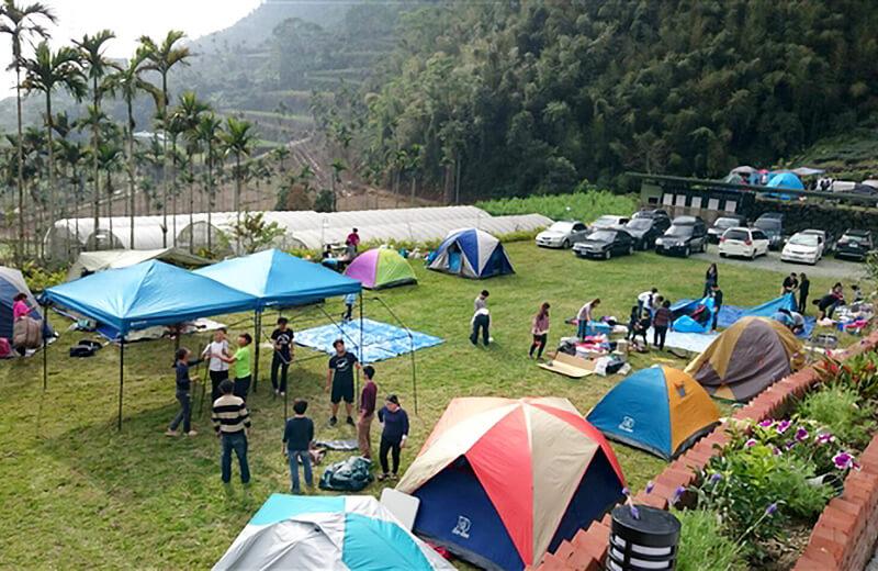 阿里山露營‧仙坪露營區