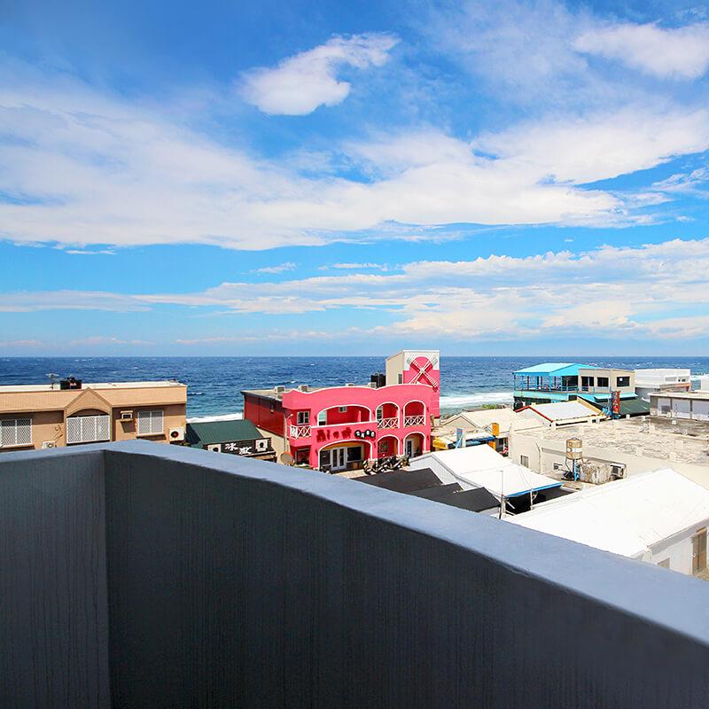 綠島旅人礁-陽台景觀