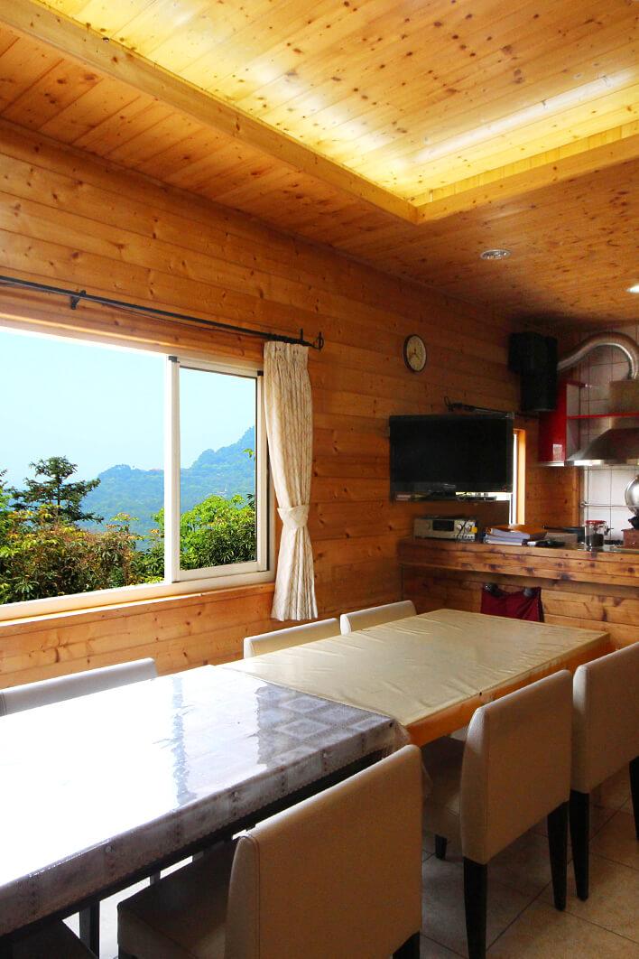 逍遙館的廚房及餐廳