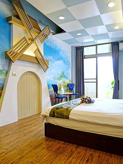 荷蘭風車4~6人房