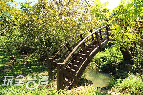 別緻的竹橋古意橫生/玩全台灣旅遊網攝