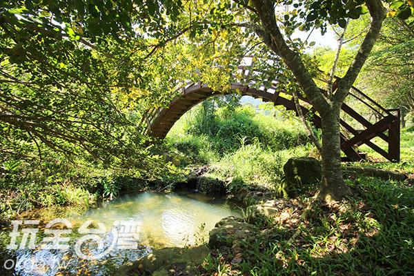 如詩畫般的茅埔坑溼地/玩全台灣旅遊網攝
