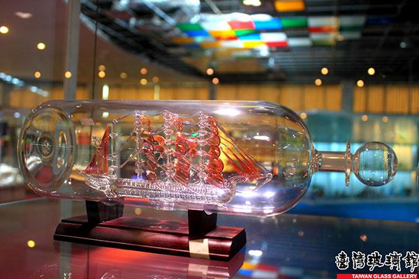 一帆風順/台灣玻璃館提供