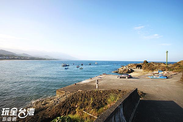 烏石鼻漁港/玩全台灣旅遊網攝