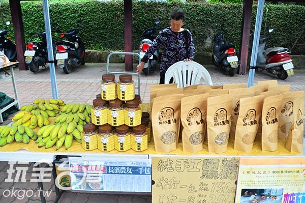 純手工熬製的黑糖/玩全台灣旅遊網特約記者蔣汶晏攝