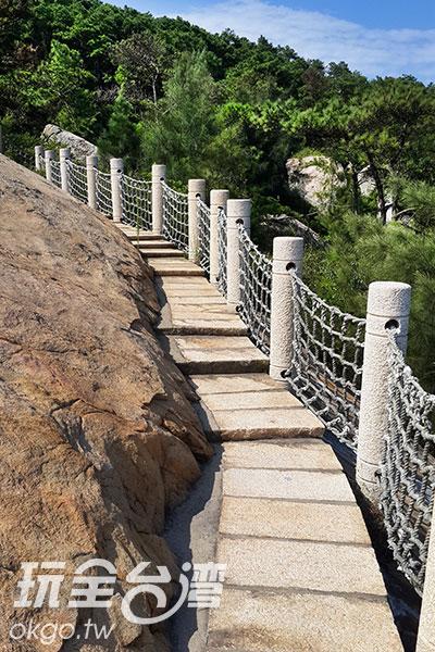 一階階的步道引人入勝/玩全台灣旅遊網攝