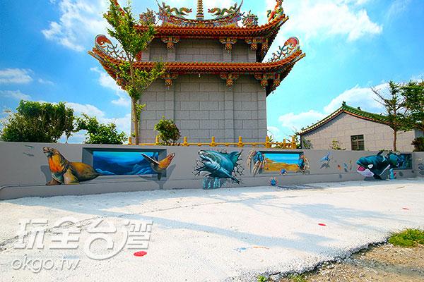 彩繪畫作皆十分精細/玩全台灣旅遊網攝