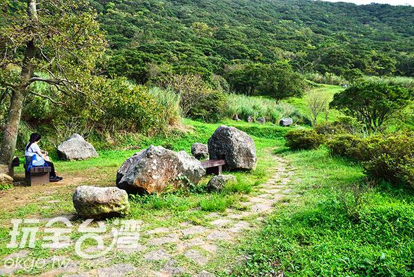 和緩的園區步道/玩全台灣旅遊網特約記者奈奈攝