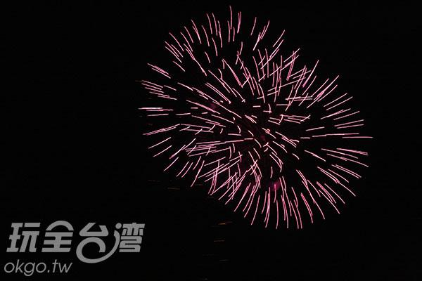 絕對不能錯過的美麗花火/玩全台灣旅遊網攝