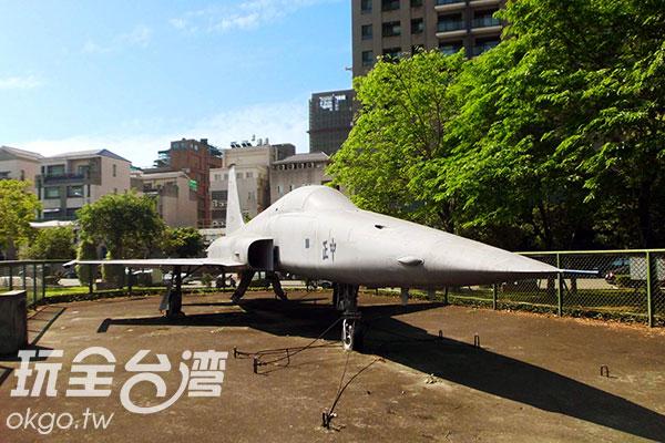 F5E戰鬥機/玩全台灣旅遊網特約記者楊昌林攝