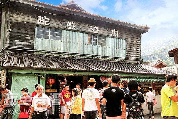 古樸的內灣戲院是日據時代留下的建物/玩全台灣旅遊網特約記者陳健安攝