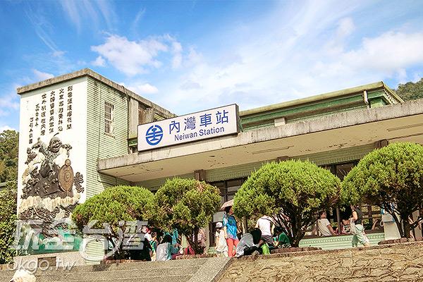 遊玩內灣老街,搭乘火車輕鬆一日遊/玩全台灣旅遊網特約記者陳健安攝