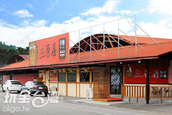 店門口的停車空間相當大/玩全台灣旅遊網攝