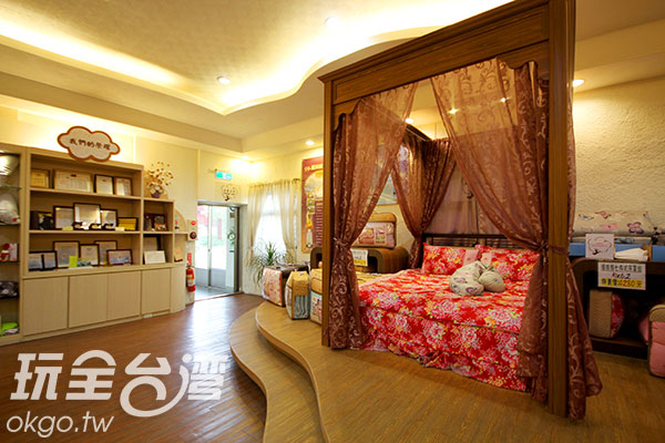 漂亮的寢室空間/玩全台灣旅遊網攝
