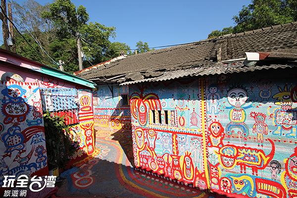 顛覆傳統框架的原創彩繪歷久彌新/玩全台灣旅遊網攝