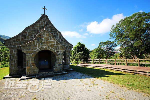 充滿異國風的「基國派老教堂」/玩全台灣旅遊網攝