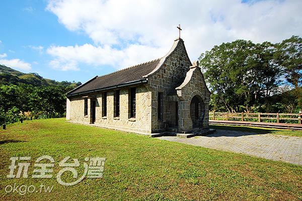 教堂創建至今已有五十多年的歷史/玩全台灣旅遊網攝
