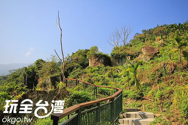 景色優美的坪瀨琉璃光之橋健行園區/玩全台灣旅遊網攝
