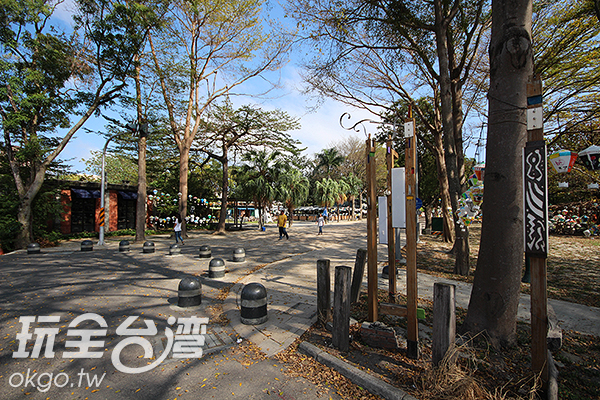 當地手作達人與小農集結於此/玩全台灣旅遊網攝