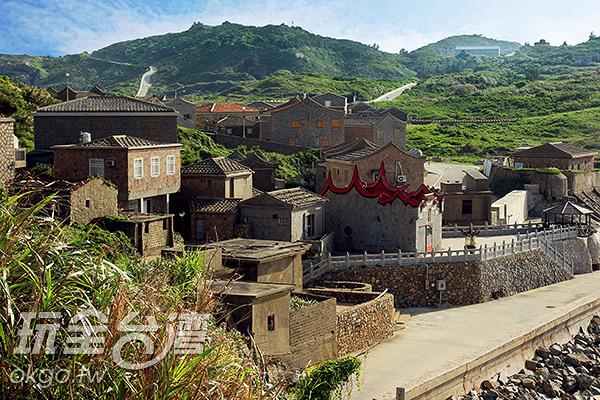 福正聚落為馬祖地區古老漁村之一/玩全台灣旅遊網攝