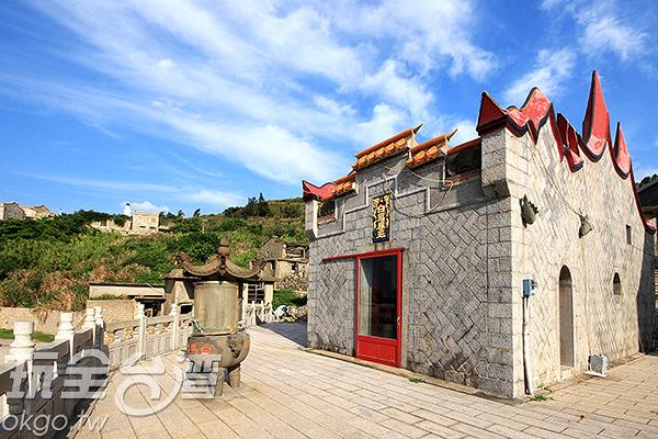 白馬尊王廟屹立不搖的守護福正聚落/玩全台灣旅遊網攝