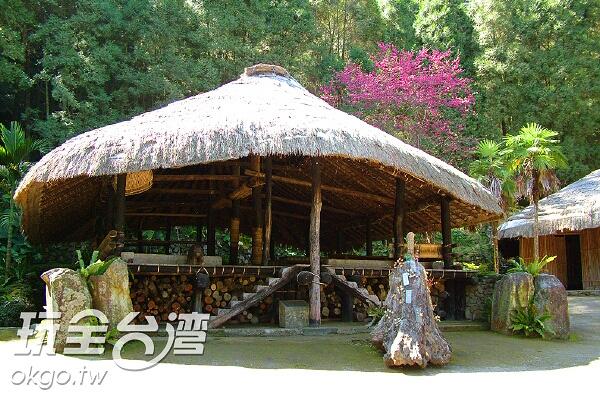 九族文化村內充滿特色的原住民文化/玩全台灣旅遊網攝