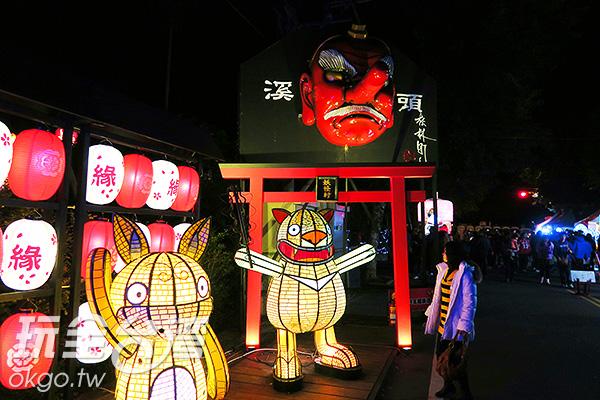 南投縣各企業的吉祥物也都特地前來共襄盛舉/玩全台灣旅遊網攝